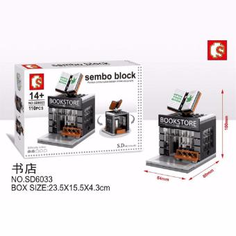 Harga Bricks Sembo Sd6033 Book Store