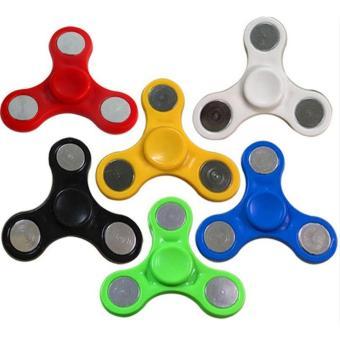 ANGEL Java Fidget Spinner Hand Toys Mainan Tri Spinner EDC Focus Games Warna Random