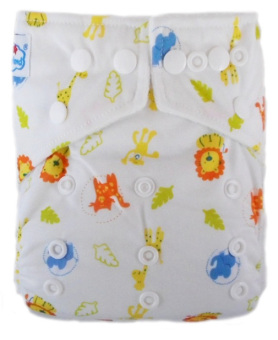 Harga Babyland Cloth Diapers Microfiber Animal Kingdom