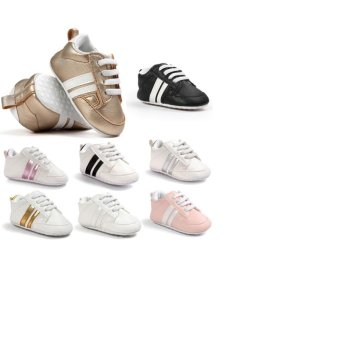 Baby Shoes Soft Bottom Anti-skid PU Leather Shoe For Infant Toddler Boys Girls(