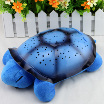 Harga Turtle Led Night Light Stars Projector for Baby Lamp Toy With 4 Light Music Turtle Lamp