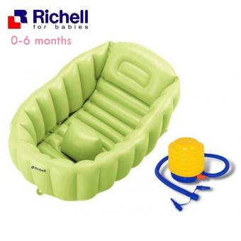 Harga Richell Baby Soft Inflatable Baby Bath Tub - Bak Mandi Bayi