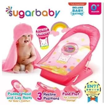 Harga Sugar Baby Deluxe Baby Bather New Motif Pink