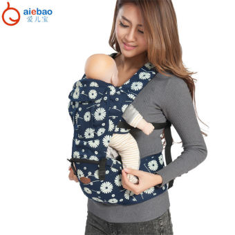 Harga AIEBAO Baby Carrier Waist Belt Infant Hip Seat(Blue) - intl