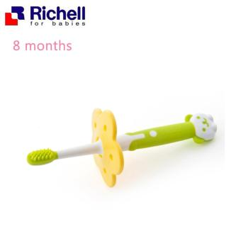 Harga Richell Baby Training Toothbrush 8 Months