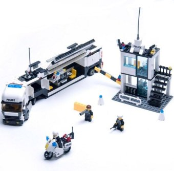 Harga Police Station Building Blocks 511pcs Bricks Educational Toys Model Building Kits Compatible with lego City Truck Car Kids Toys