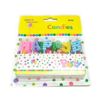 Harga Lilin Happy Birthday Motif Polkadot