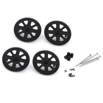Harga BolehDeals Black Genuine Spur Gear Motor Shafts and Accessories for Parrot Ar.Drone 2.0