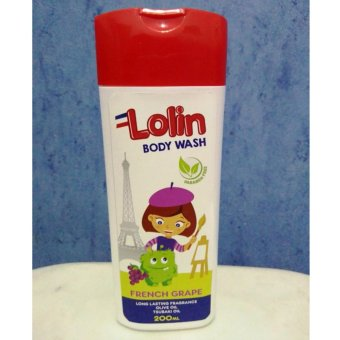 Harga Lolin Body Wash 200ml