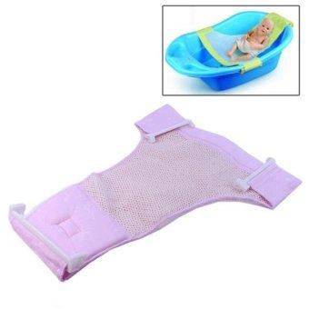 Safe Cushion Baby Bath Bed / Bathtub Bath Seat Baby Bath T Bed(Pink)