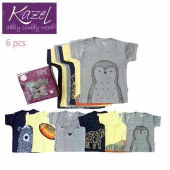 Harga Kazel Tshirt Penguin Edition isi 6 pcs - XXl