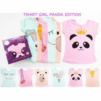 Harga Kazel Tshirt Panda Edition - L (3-4yr)