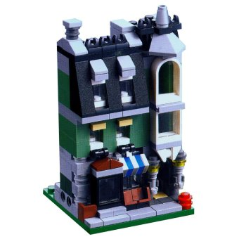 Harga Mainan Edukasi, Mainan Koleksi compatible with LEGO Green Grocer Pasar City Bricks Inini - Multicolor
