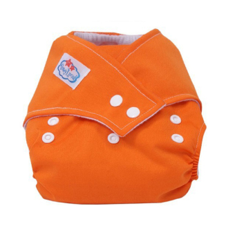 Harga PAlight Baby Washable Cloth Diaper Nappy (Orange)