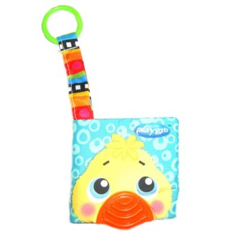 Harga Baby Talk Softbook Teether Pets