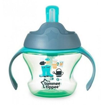 Harga Tommee Tippee Training 1st Straw Cup 150ml Hijau