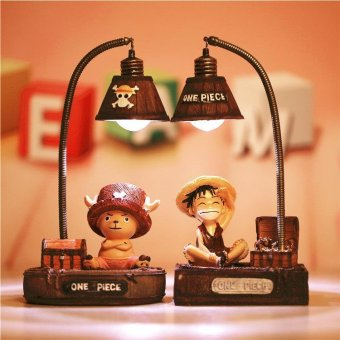 Harga Japanese-style One Piece Anime Luffy Joba Creative Night Light Student Gift Resin Decoration(Luffy) - intl