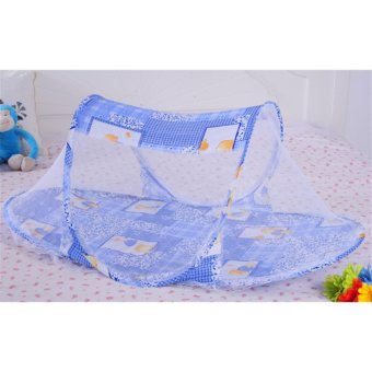 Harga Catwalk Multifunctional children folding nets baby nets baby special cartoon quality squirrel nets - intl