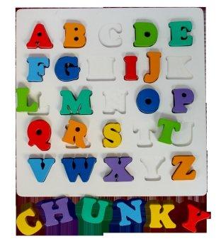 Hellopandabooks - Puzzle Chunky Alphabet Huruf Besar