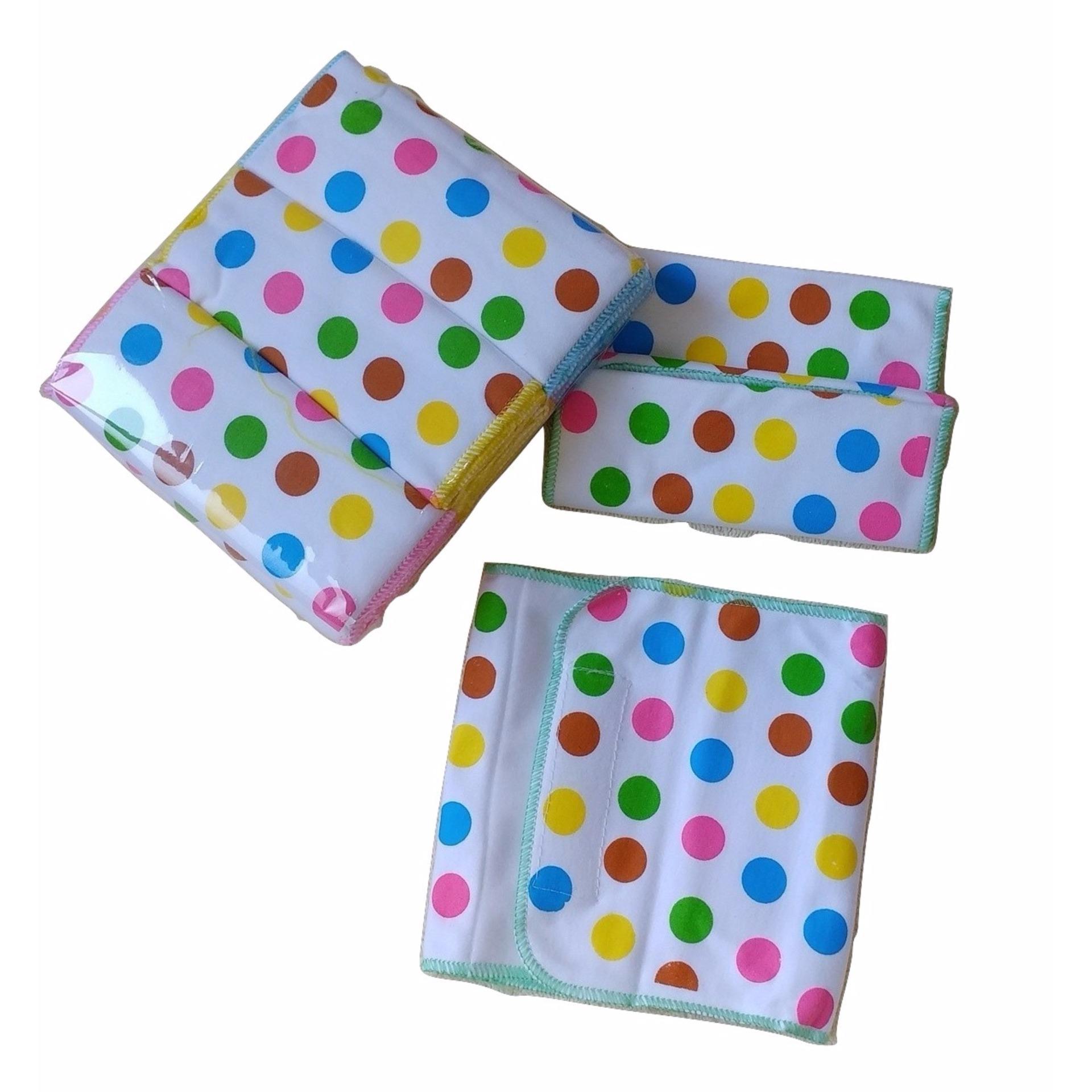Hot Deals Jelova Angela Selusin Gurita Rekat Baby Bayi Motif Polka Premium Quality 12pcs terbaik murah