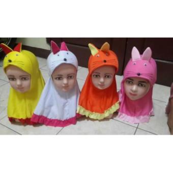 Jibab Baby /Kerudung Bayi Lucu Rabbit