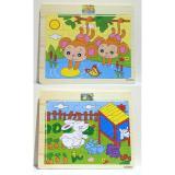 ... Jigsaw Kayu Mini Binatang / Mainan Edukatif Puzzle /Mainan Kayu Edukatif - 5