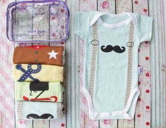 Kazel Bodysuit Boy Edition - baju bayi s.d balita ( 0 - 2 thn )