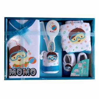 Kiddy Baby Gift Set Snorkeling 11160 Biru - Set Pakaian Bayi