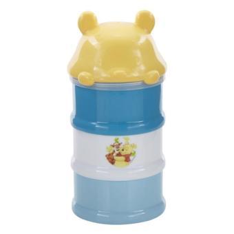 Kiddy Baby Milk Powder Container 3 Layer WTP Biru - Tempat Susu Formula