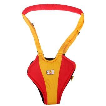 Kiddy Learn To Walk Merah Kuning - Alat Bantu Belajar Jalan Bayi