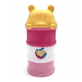 Kiddy Milk Powder Container WTP Pink BPA Free - Tempat Penyimpanan Susu Bubuk