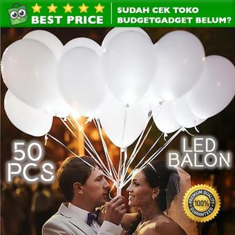 Lampu Balon LED Multifungsi 50PCS
