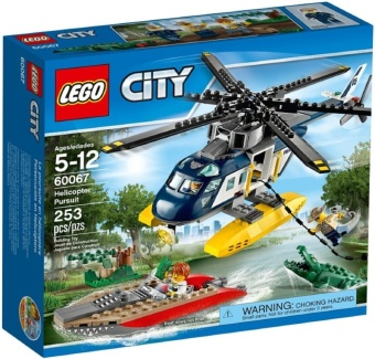 Lego 60067 City : Helicopter Pursuit
