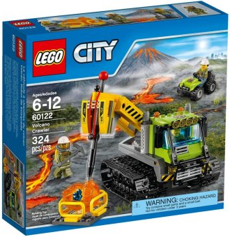 LEGO 60122 CITY: Volcano Crawler