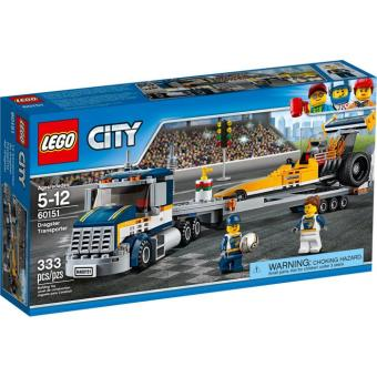 Lego 60151 City Dragster Transporter