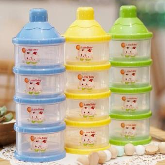 Little Baby Milk Powder Container/Kontainer Tempat Susu Formula 4 Susun