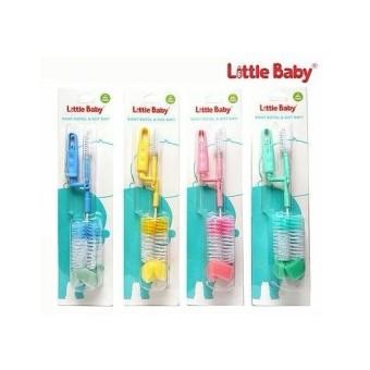 Little Baby Sikat Botol & Dot Bayi Isi 2