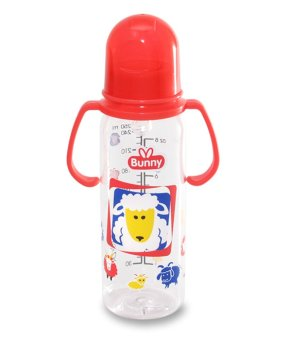 Lusty Bunny Botol susu Bayi with Handle 250 ml