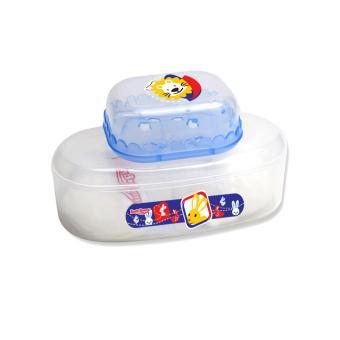 Lusty Bunny Tempat bedak Bayi Baby Powder Case plus soap case