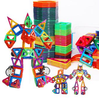 Magnet magnet magnet anak laki-laki dan perempuan di bawah usia mainan blok bangunan