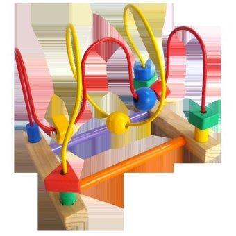 Mainan Eduka Wire Game 2 Line