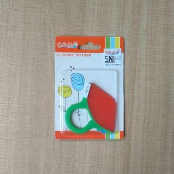 Mainan Gigitan Bayi Reliable Silicone Teether Watermelon