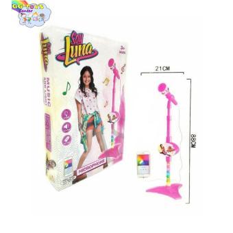 Mainan Microphone Soy Luna / Microphone Anak Pink