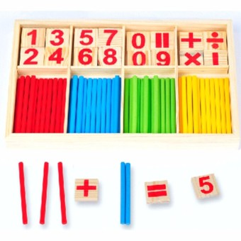 Mainan Puzzle 3D Matematika Anak Mainan Edukasi Matematika