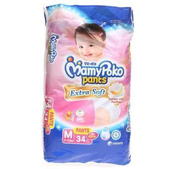 MamyPoko Pants Extra Soft M 34 - Girl