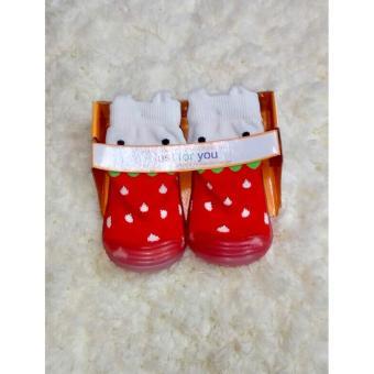 MomBaby Skidder JFY Sepatu Bayi Motif 3D Terbaru - 09 Size 19