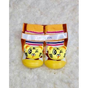Mombaby Skidder JFY Sepatu Bayi Motif Boneka Terbaru - 04 size 21