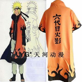 Kostum Cosplay Jubah Naruto
