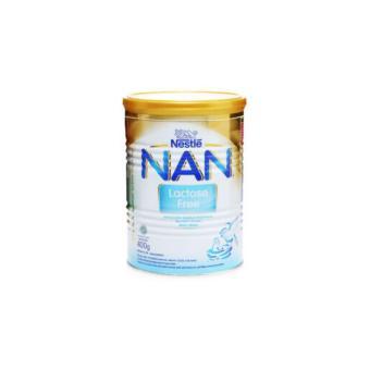 NESTLE Nan Free Lactose Susu Formula Plain Tin - 400g