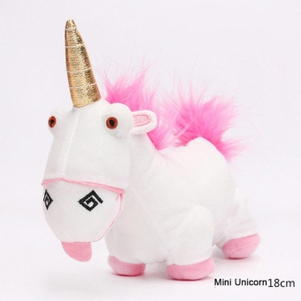New Cute Kawaii Unicorn Plush Doll Pillow Stuffed Toy Kids Gift Fluffy 18CM 970c4673ff
